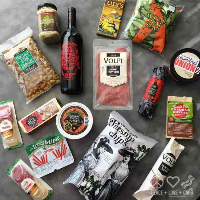 Healthy Low Carb and Gluten Free Haul from Trader Joes | Peace Love and Low Carb