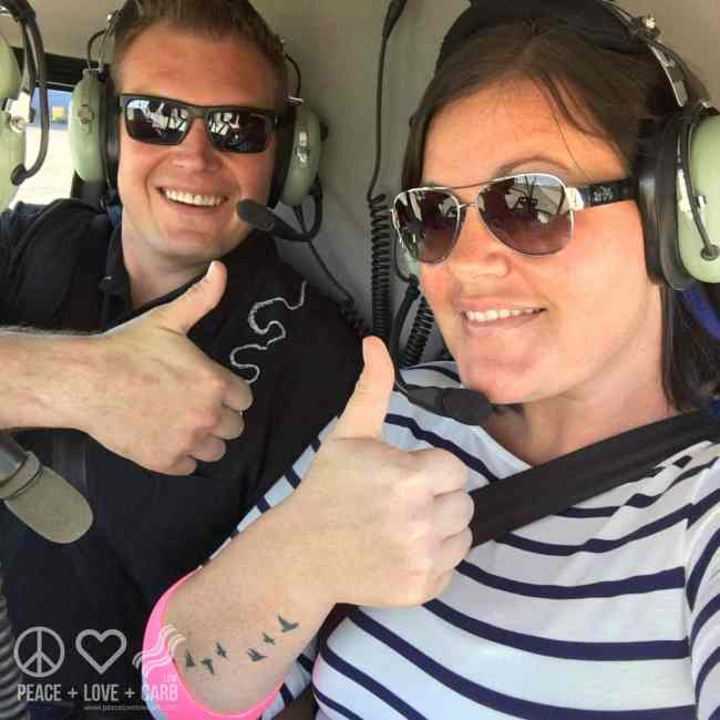 Helicopter Tour Day Date | Peace Love and Low Carb