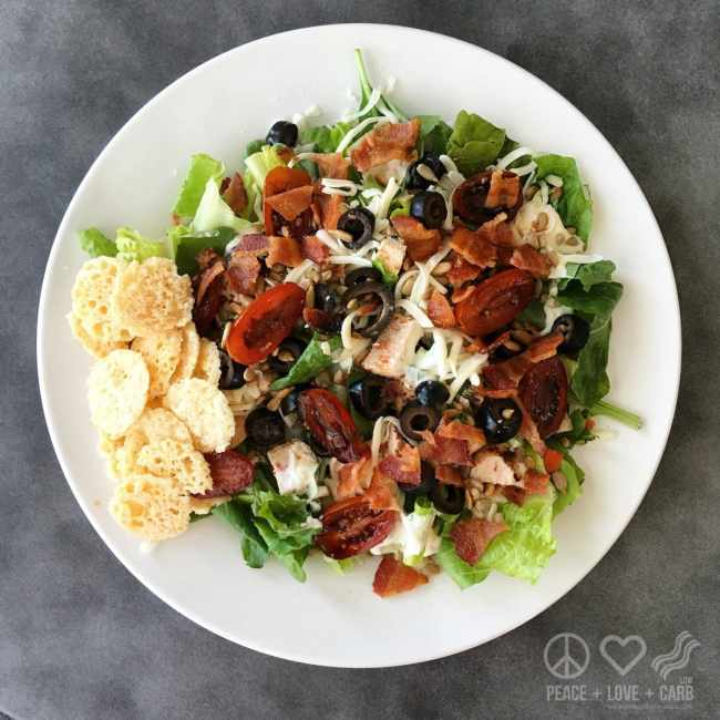 Salad a Day Challenge - Low Carb, Gluten Free | Peace Love and Low Carb