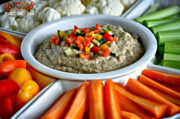 Balsamic Hummus - Low Carb, Paleo, Whole30