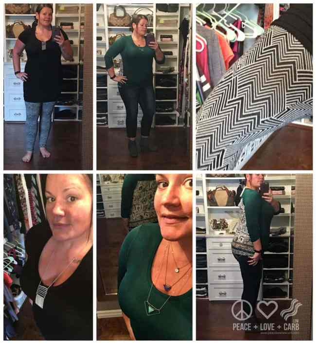 Some of my October Stitch Fix Keepers | Peace Love and Low Carb