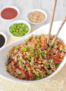 Paleo Egg Roll in a Bowl - Crack Slaw - Low Carb, Gluten Free | Peace Love and Low Carb