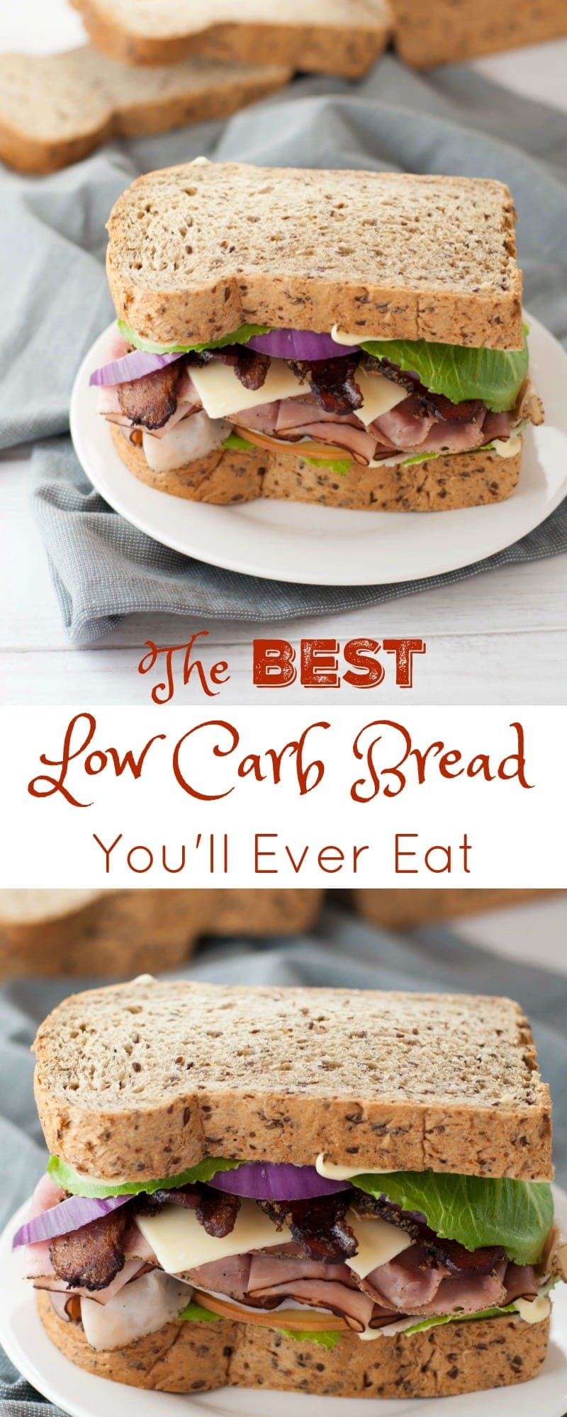 The Best Low Carb Bread you'll Ever Eat - Peace Love and Low Carb