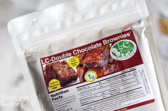 Low Carb Double Chocolate Brownie Mix - Peace Love and Low Carb