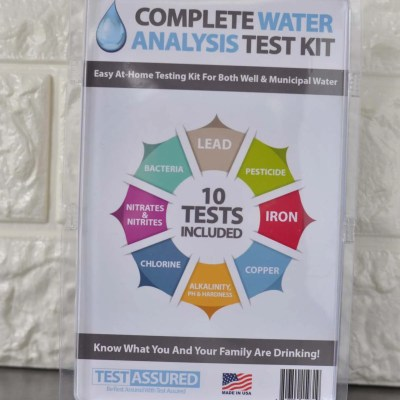 Home Water Testing Kits – Results and a Giveaway!