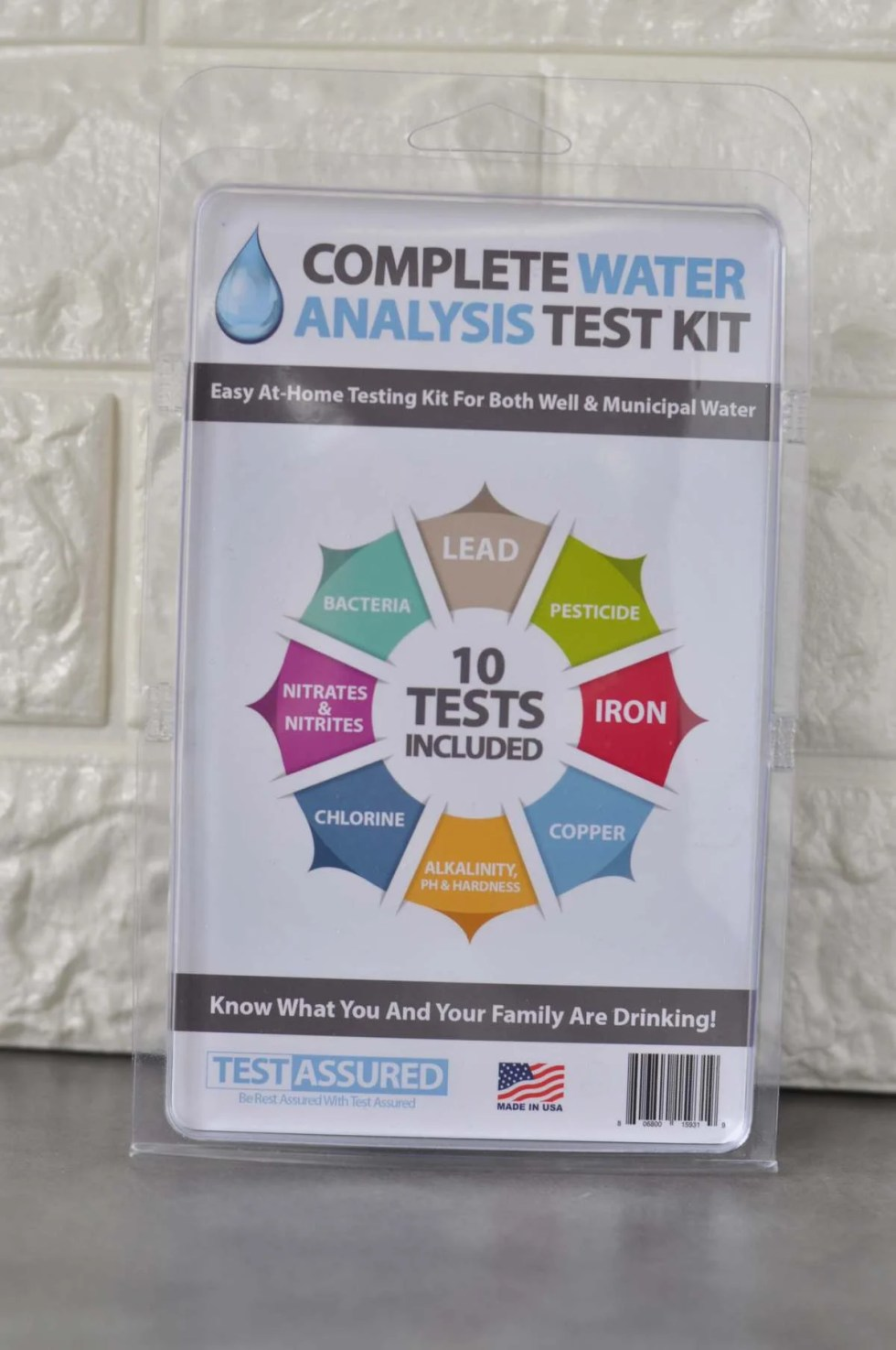 Home Water Testing Kits - Our Home Results and a Giveaway!