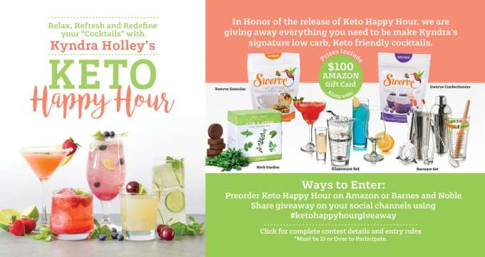 Keto Happy Hour - Low Carb Cocktail Recipes