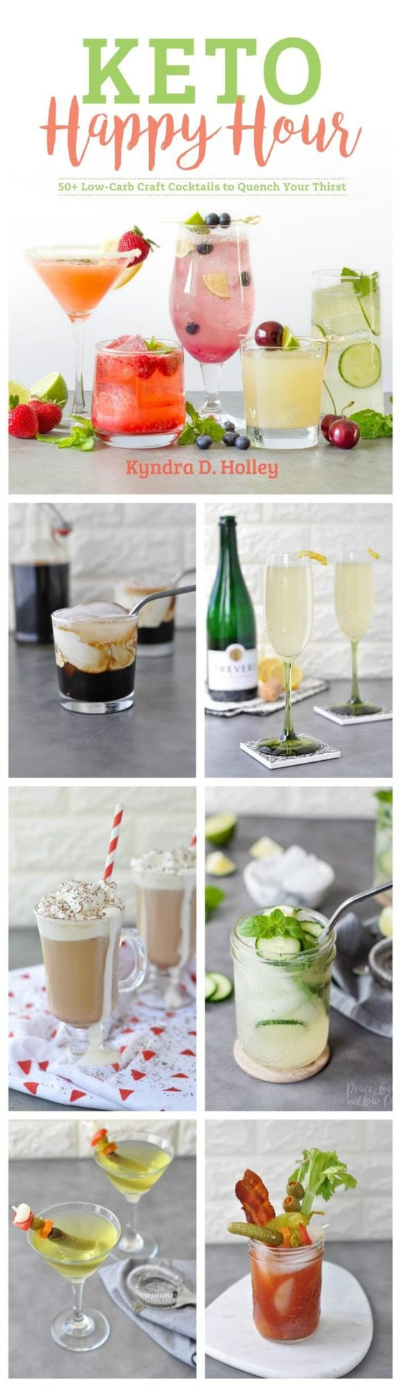 Keto Happy Hour - 50+ Low Carb Craft Cocktails to Quench Your Thirst