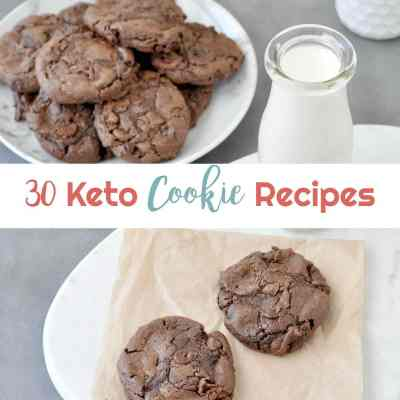 30 Keto Cookie Recipes | Peace Love and Low Carb