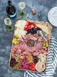 How to Build an Epic Keto Charcuterie Board - Peace Love and Low Carb