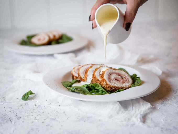 Keto Chicken Cordon Bleu | Peace Love and Low Carb