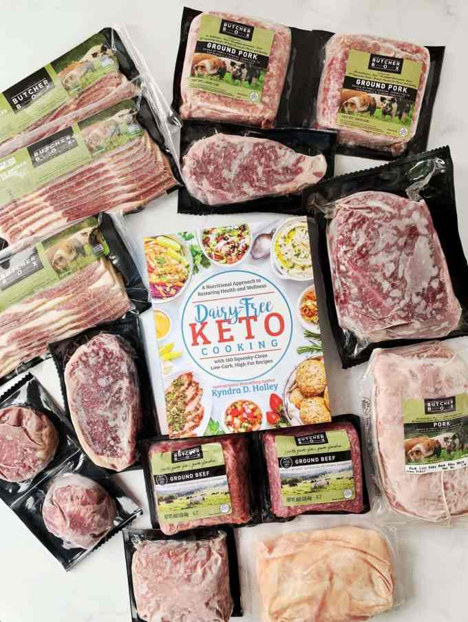 Dairy Free Keto Cooking GIVEAWAY Extravaganza - 11 Weeks of giveaways for the launch of my new book. Week 5 - Butcher Box