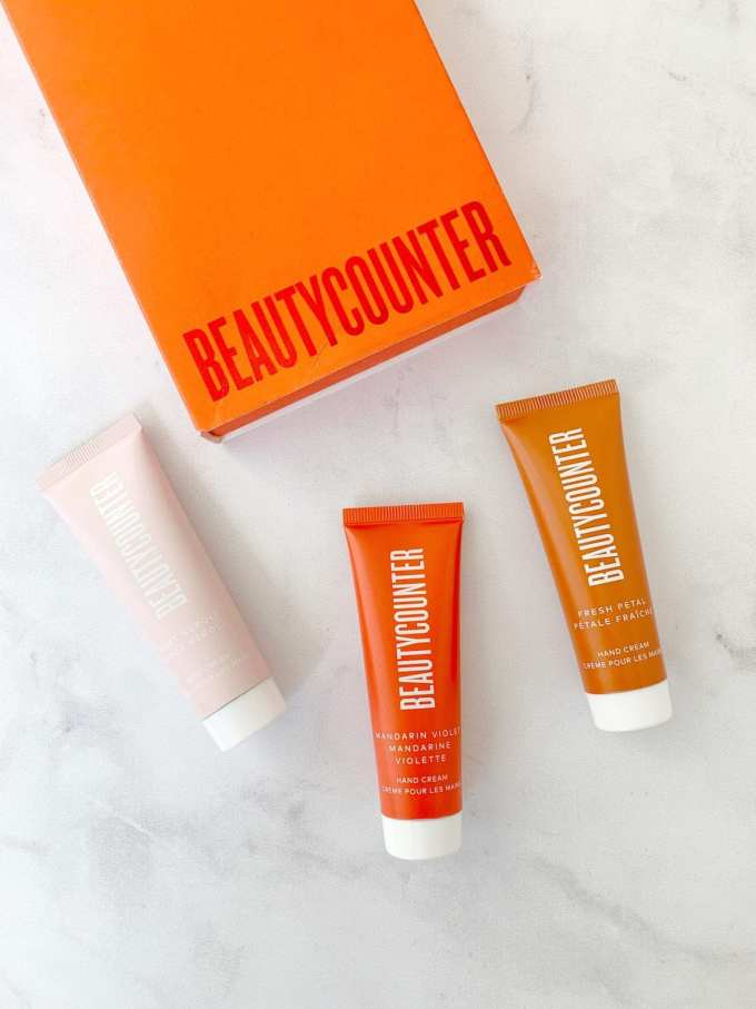 2019 Beautycounter Holiday Collection - Hand Cream Trio
