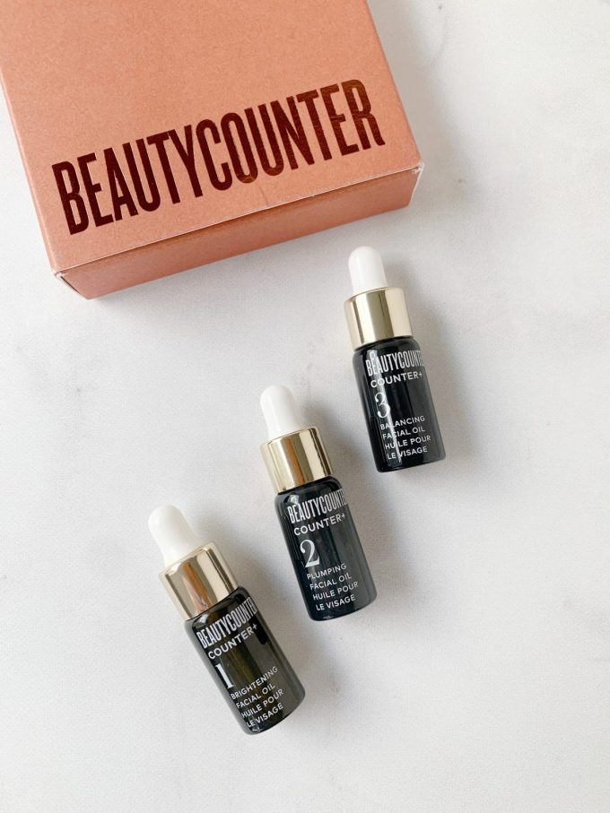 2019 Beautycounter Holiday Collection - Glow & Go Mini Oils