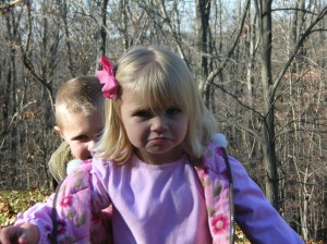 One of my all time favorite pictures of Lydia. At two-years old she could pout with the best of them! Nanny Coy would be proud.