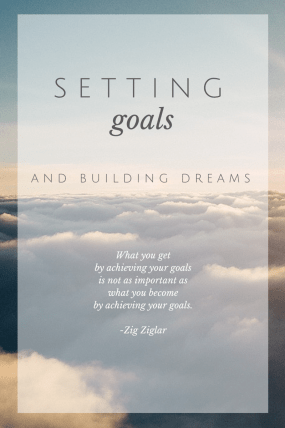 Setting Goals Graphic