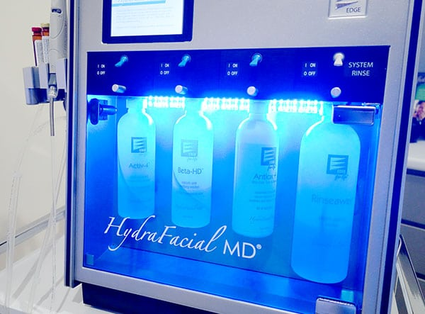 Four Hydrafacial Water Pumps from peace.love.med. in boca raton fl