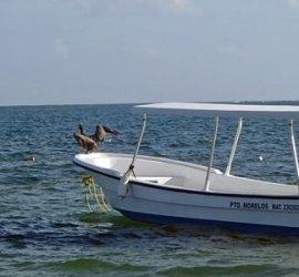 Boat, Pto. Morelos, Mexico