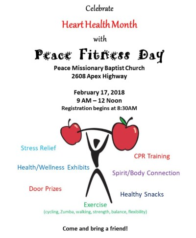 PEACE FITNESS DAY