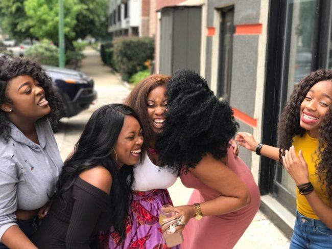 black-women-laughing