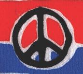 pbw peacesign