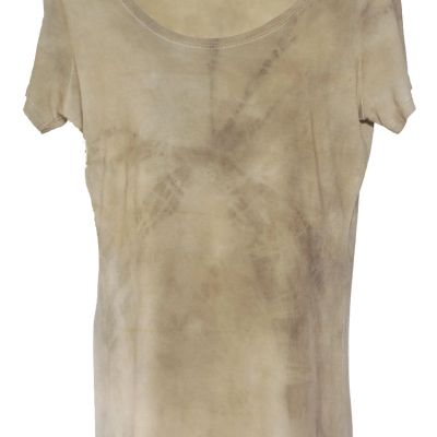 Bamboo Scoop neck dyed with cutch