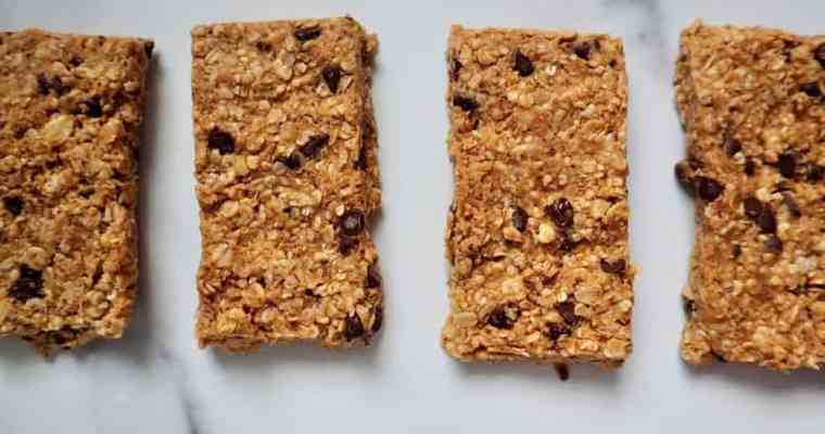 Easy No-Bake Granola Bars (GF, DF, soy free)