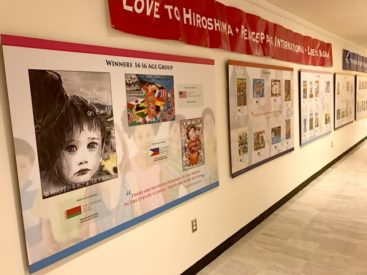 Peace Pals & Japan Mission Hold Art Exhibition at UN Headquarters New York