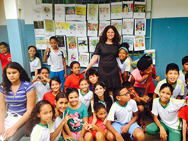 Little Artists for Peace – Peace Pals International – Cuiabá, Brazil