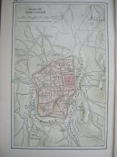 old map of Jerusalem Old City
