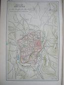 old map of Jerusalem Old City