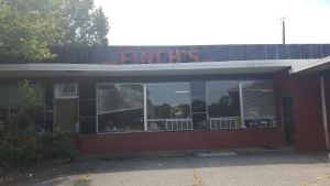 exterior of Finch's Diner