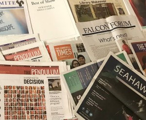 Newspapers that won awards at the conference