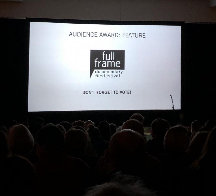 "Audience waiting for ""Kifaru"" to start at Full Frame Fest"