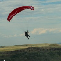 Going with the flow - Paragliding style!