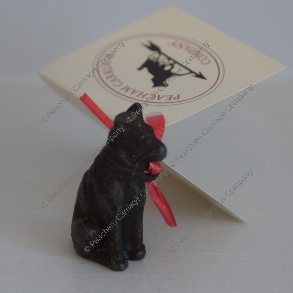 Miniature Dog Figurine