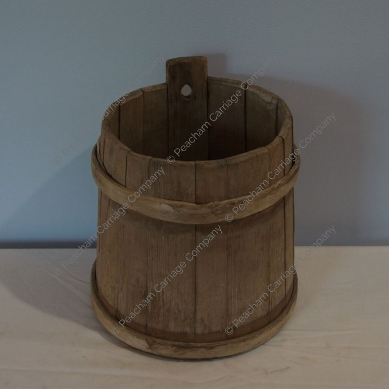 Antique Sap Bucket