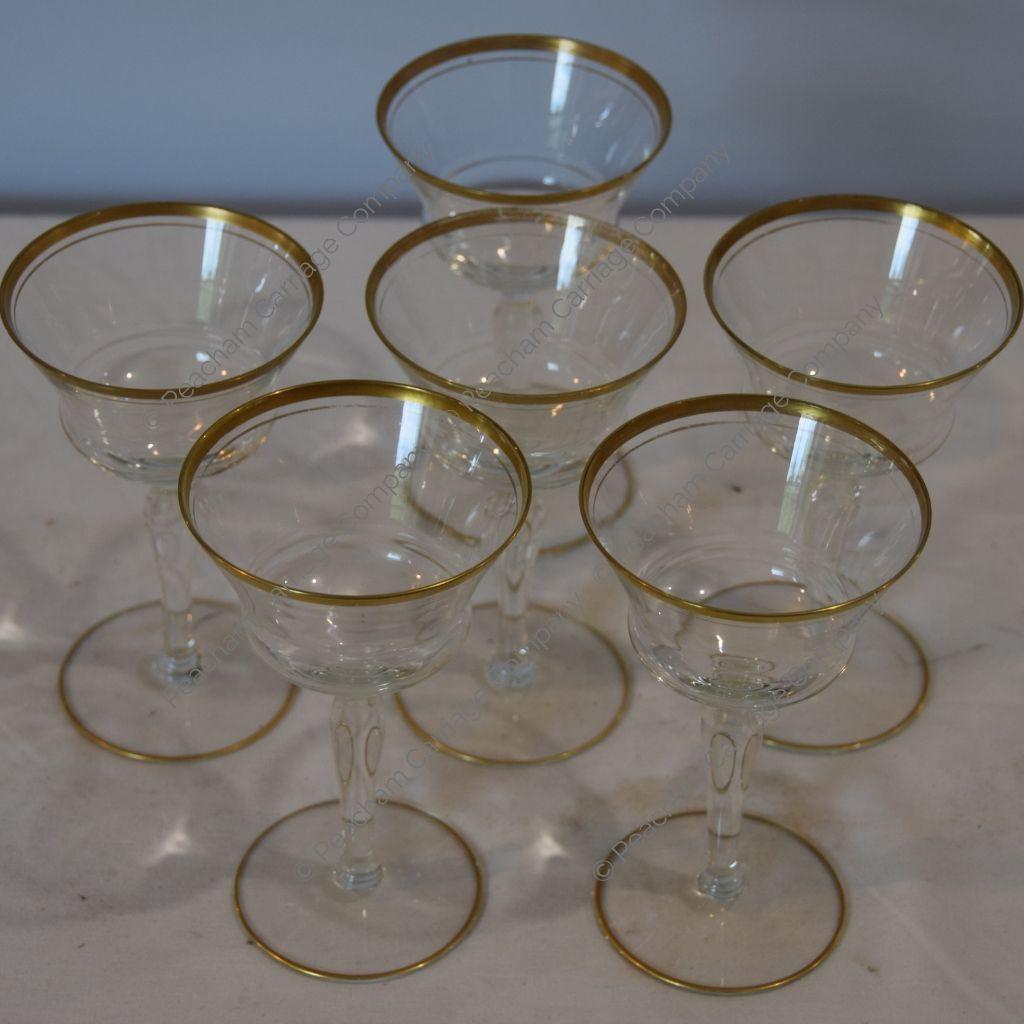 Stem Glasses, Set of 6