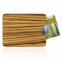 Card Holder in Zebra