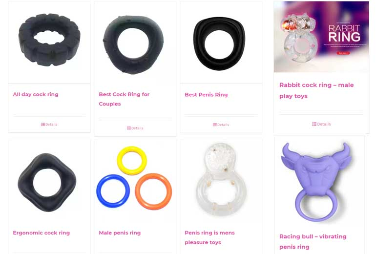 silicone penis ring