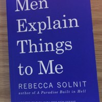 Book Review: Men Explain Things to Me