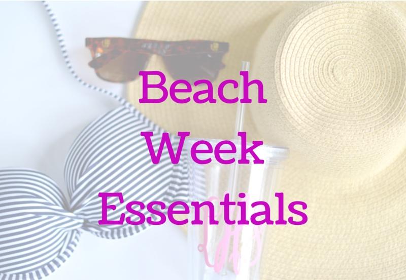 Beach WeekEssentials