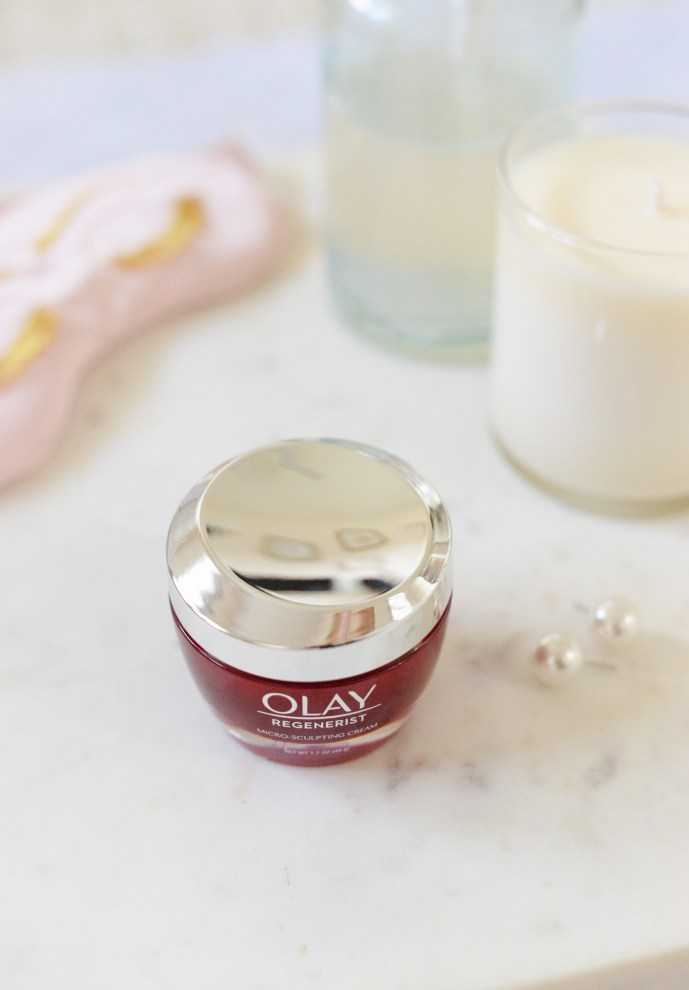 Skincare Routine with Olay