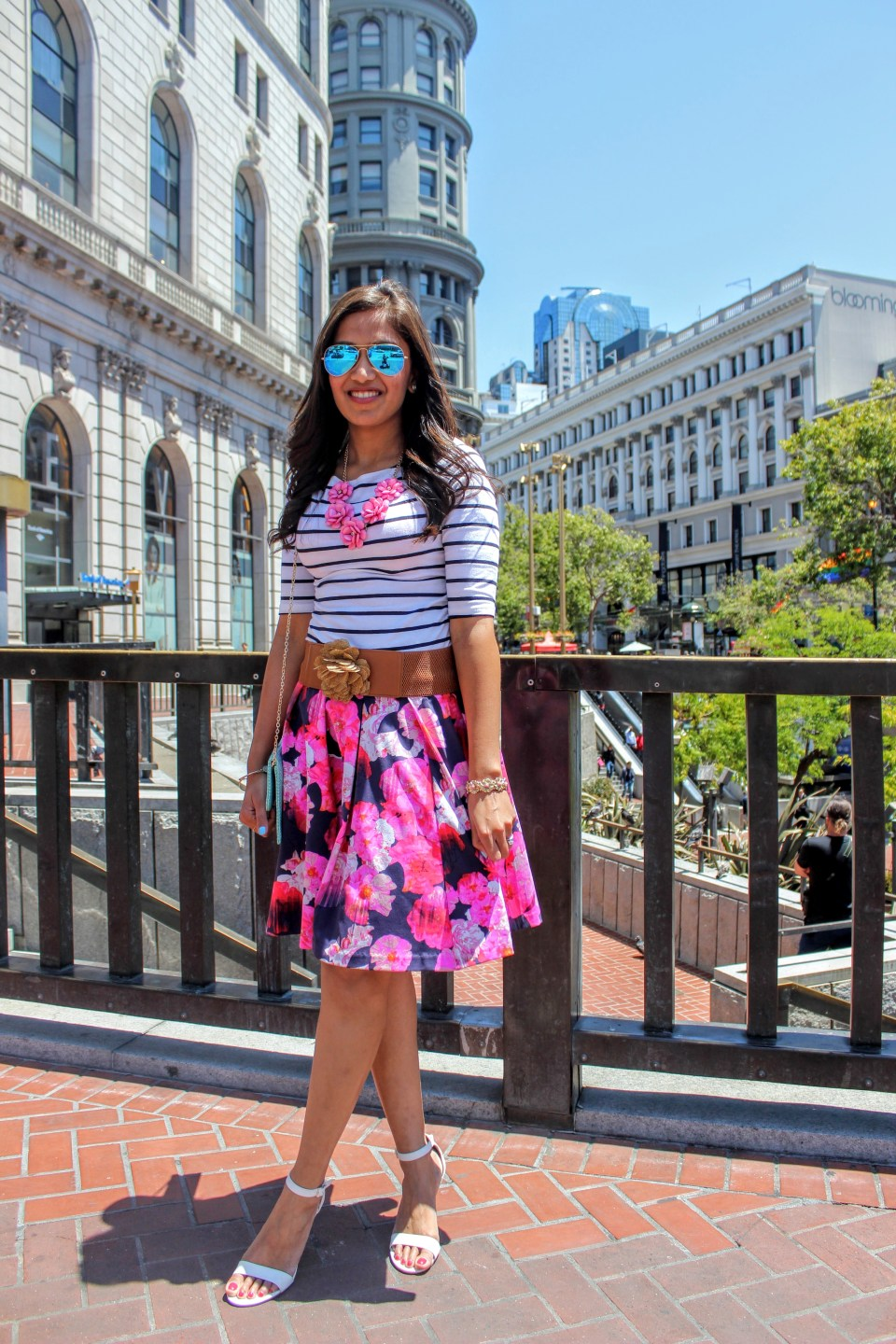 Florals and Stripes 4