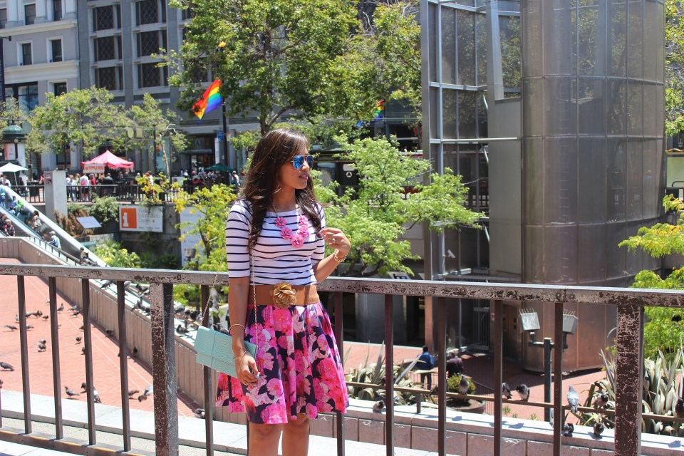 Florals and Stripes 11