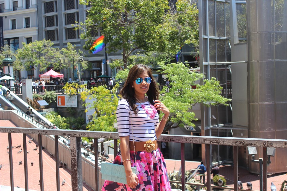 Florals and Stripes 12