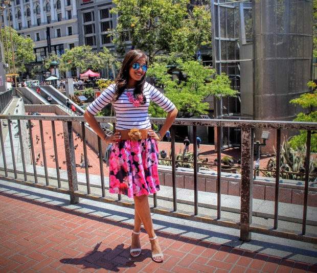Florals and Stripes 13