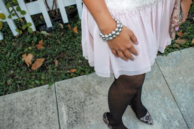 Pink Skirt Holiday Outfit 2