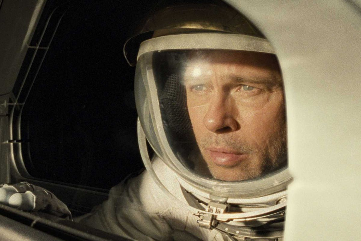 Ad Astra and Brad Pitt is a star.