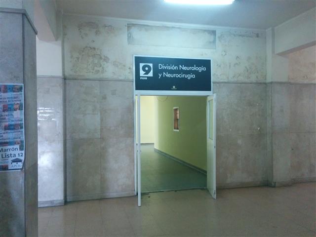 Eingang zu unserem Bereich